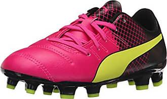 Puma Evospeed 4.5 Tricks AG, Herren Fußballschuhe, Pink (Pink glo-Safety Yellow-Black 01), 42.5 EU (8.5 Herren UK)