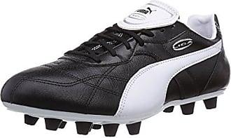 Puma Classico SG Jr, Unisex-Kinder Fußballschuhe, Schwarz (Black-White Gold 01), 32 EU (13 Kinder UK)