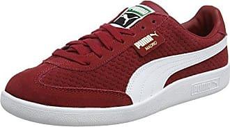 Puma Liga Leather, Scarpe da Ginnastica Basse Unisex-Adulto, Rosso (Tibetan Red-Tibetan Red), 40.5 EU