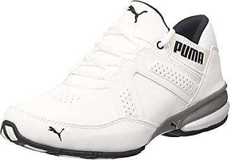 Puma Viz Runner, Chaussures de Cross Homme, Blanc White Black, 45 EU