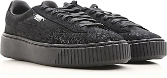Sneakers for Women On Sale in Outlet, Black, Leather, 2017, US 7 5 - UK 5 - EU 38 - JP 24 Puma