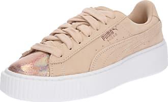 Crème / Rosa Chaussures De Sport De Pumas Couche Lunalux » dbkYtKv