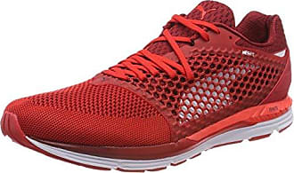 Puma Speed 600 Ignite 3, Chaussures de Cross Homme, Rouge (Flame Scarlet-Red Dahlia White), 45 EU