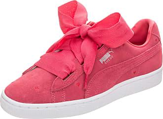 Puma Mädchen Suede Heart Valentine PS Sneaker, Schwarz Black Black, 30 EU
