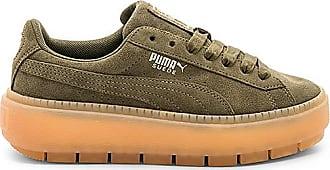 Suede Platform Trace Block Sneaker in Wine. - size 8.5 (also in 10,7.5,8,9.5) Puma