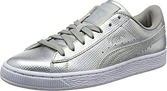 Suede Classic+ - Sneakers Basses - Mixte Adulte - Gris (Grey/White 66) - 44.5 EU (10 UK)Puma xKYeNXMp