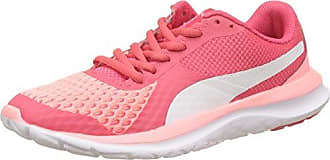 Puma Flex T1 Reveal, Zapatillas Unisex Adulto, Rosa (Soft Fluo Peach-Puma White-Paradise Pink), 38.5 EU