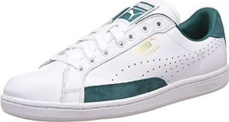 Puma Smash Leather, Tennis Adulte Mixte, Bianco (White/Ponderosa Pine), 39 EU