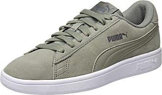 Puma Chaussures Smash V2 pour Homme, 38.5 EU, Black/Silver