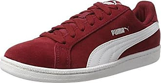 Mixte Rouge Red Smash Dahlia Puma Chaussures Adulte V2 Cross De kZOlPiwTXu