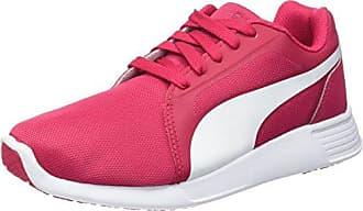 Puma St Trainer Pro, Baskets Basses Mixte Adulte, Black-Pink Glo 06, 40 EU