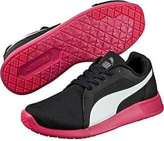 Puma - ST Evo, Zapatillas de Running Unisex Adulto, Multicolor (Black/White/Rose Red), Talla 42
