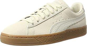 Puma Suede Classic+, Sneakers Basses Mixte Adulte, Beige (Birch-White), 44 EU