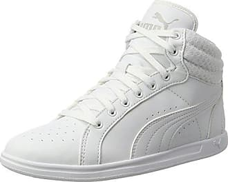 Puma Fierce Eng Mesh, Sneakers Basses Femme, Gris (Gray Violet/White), 42.5