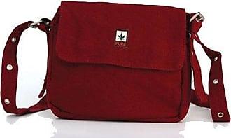 HV-0029 Hanf Baumwolle Umhängetasche bzw. Gürteltasche H20 x B22xT5, Khaki Pure