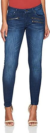 Q/S designed by s.Oliver 41.805.73.2057, Pantalones para Mujer, Azul (Navy AOP 56A1), 34