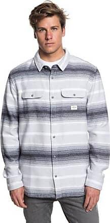 Kanagawa - Langarm-Hemd für Männer - Grau - Quiksilver Quiksilver