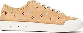 Rag & Bone Woman Standard Issue Embroidered Suede Sneakers Sand Size 36.5 Rag & Bone Qn34Ks1m