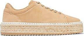 Rag & Bone Woman Standard Issue Embroidered Suede Sneakers Sand Size 36.5 Rag & Bone zXGsNA7zxW