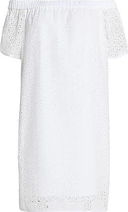 Rag & Bone Woman Off-the-shoulder Printed Broderie Anglaise Cotton Top Black Size XXS Rag & Bone Clearance High Quality Outlet Sale Online uFurhU6UPZ