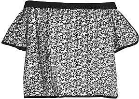 Rag & Bone Woman Off-the-shoulder Printed Broderie Anglaise Cotton Top Black Size XS Rag & Bone Sale Online Sale Low Price Fee Shipping Affordable Cheap Price Ebay Cheap Price Buy Cheap Price VyD3Y8fIR
