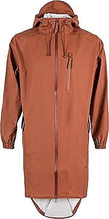 Jacket, Impermeable para Hombre, color rojo (rust), talla X-Large Rains