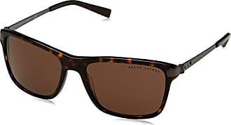 Ralph Lauren Herren Sonnenbrille 0RL81550373, Braun (Dark Havana/Brown), 57