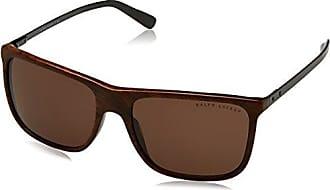 Ralph Lauren Herren Sonnenbrille 0RL81570187, Schwarz (Black/Darkgray), 58