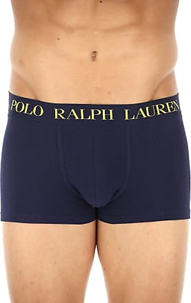 Boxer Briefs for Men, Boxers On Sale, Yellow, Cotton, 2017, S (EU 3) M (EU 4) L (EU 5) XL (EU 6) Ralph Lauren