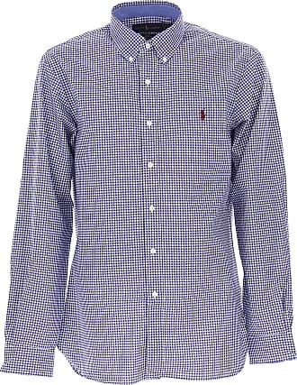 Camisa de Hombre Baratos en Rebajas, Verde, Algodon, 2017, XL Ralph Lauren