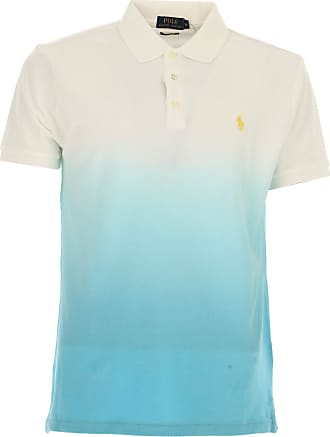 Polo Shirt for Men On Sale in Outlet, White, Cotton, 2017, L M Ralph Lauren