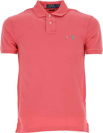 Polo Shirt for Men On Sale in Outlet, Beige, Cotton, 2017, S Ralph Lauren