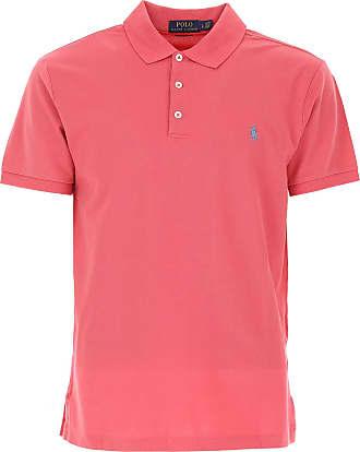 Polo Shirt for Men, Asphalt Grey, Cotton, 2017, L M S XL XXL Ralph Lauren