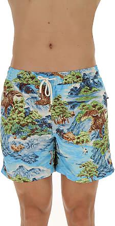 Swim Shorts Trunks for Men On Sale, Skyblue, polyestere, 2017, S M L XL Ralph Lauren