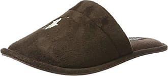 Ralph Lauren Men's Markel II, Zapatillas de Estar por Casa para Hombre, Beige (Snuff Suede 000), 41 EU
