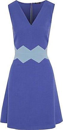 Raoul Woman Silk-blend Duchesse-satin Mini Dress Midnight Blue Size 32 Raoul Outlet The Cheapest jV3jTX