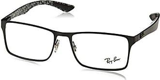 Ray-Ban Herren Brillengestelle 7131, Schwarz (Negro), 55