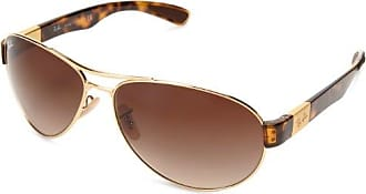 RAY BAN RAY-BAN Sonnenbrille » RB3558«, goldfarben, 001/13 - gold/braun