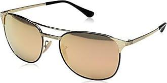 Unisex Rb 3429M Sunglasses, Gold, 58 Ray-Ban