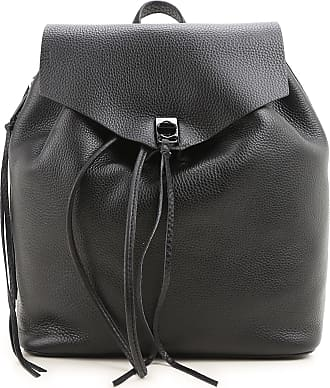 Rebecca Minkoff Backpack for Women On Sale, Black, Leather, 2017, one size