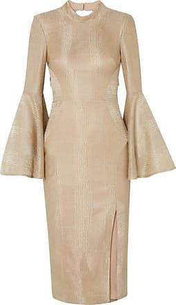 Rebecca Vallance Woman Cutout Gathered Jacquard Mini Dress Baby Pink Size 6 Rebecca Vallance RCPAG5bkwE
