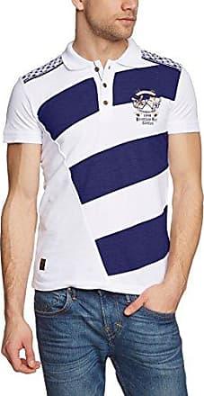 Redbridge Polo - Manches Longues Homme - Blanc - Blanc - FR : XX-Large (Taille Fabricant : XXL) (Brand size : XXL) otPmgebC