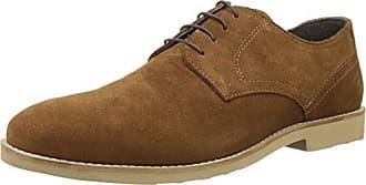 RedskinsZorg - Zapatos Derby Hombre, Negro (Negro), 44