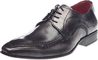 Zalma, Zapatos de Cordones Derby para Hombre, Marrn (Cognac 47), 43 EU Redskins