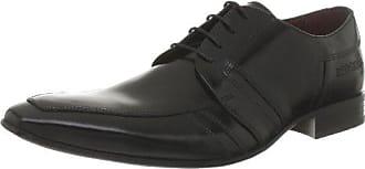 Redskins Hello_Noir - Zapatos de cuero para hombre, color negro, talla 43