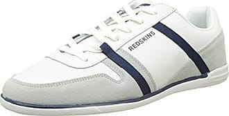 Redskins TK7311R - Zapatillas de Deporte de Lona Hombre, Gris (Gris (Gris+Marine 1R)), 43 EU