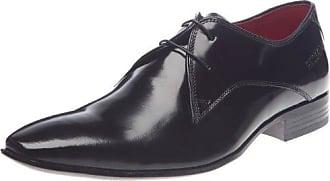 Waddeni, Zapatos de Cordones Derby para Hombre, Azul (Marine+Cognac AB), 43 EU Redskins
