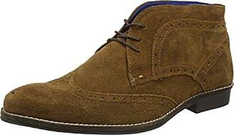 Bradshaw, Chaussures Brogues à Lacets Homme - Marron - Marron, 42Redtape