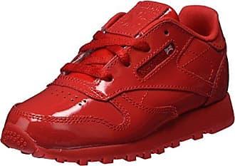 Reebok Mädchen Classic Leather Patent Gymnastikschuhe, Rot (Primal Red), 20 EU