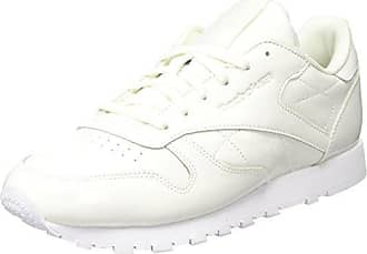 Reebok Unisex Baby Classic Leather Patent Sneaker, Weiß (White), 17 EU